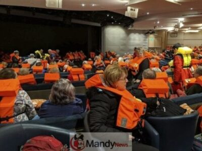 26d892b6a9e4a01fa7ace6490861f43c - 1,300 Passenger Trapped In Norway Cruise Ship Rescued (Video, Pictures)