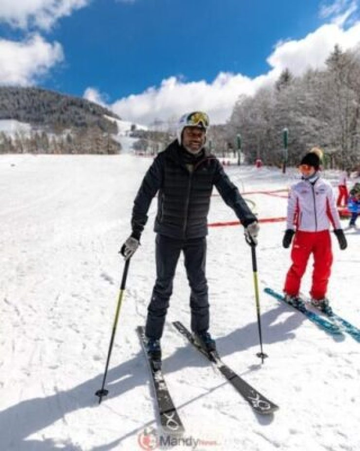 53066329_458566641349845_8977402314221417072_n Femi Otedola Hits Up  Snow Skating Park In France (Photo)