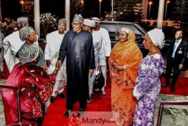 5c7be6d28857b See Photos From President Buhari's Election Victory Dinner