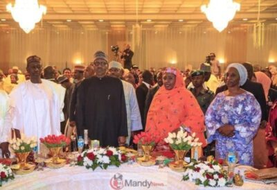 5c7be6fc4e245 - See Photos From President Buhari's Election Victory Dinner