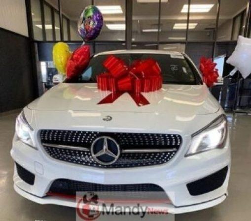 5c9c7848bc3a3 Bobrisky Buys A Brand New 2016 Mercedez Benz AMG (Photos)