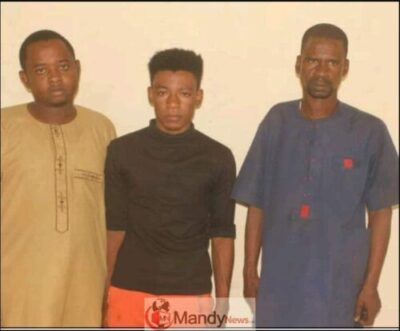 8922031 capture1 jpegb1ff00360a9015ca7795717777a84460 - 3 Men Arrested For Having Gãy Sèx In A Hotel After Quarrel Over N10K (Photo)