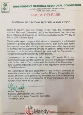 8956288 img20190310155501 jpeg0ea1babc395cffe45070690b4bcdd750 - INEC Suspends Rivers State Election Process