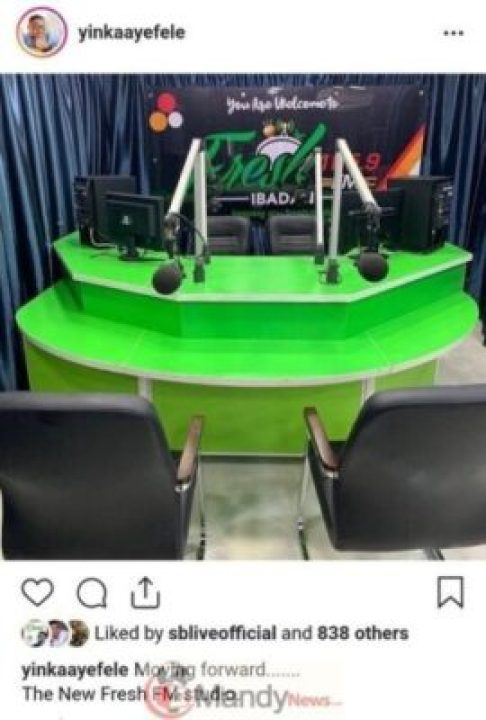 9039490_screenshot20190323210841_jpeg403af601af2b45ca0dd8f4bdbe8cb037 Yinka Ayefele Exhibits Off Inside Of His Newly Constructed Recent FM Studio