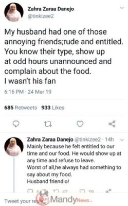 9047668_screenshot20190325091805_jpegcb00293c9c020b1c8c93897634398c37 Woman Reveals How She Taught Her Husband's Entitled Buddy A Painful Lesson