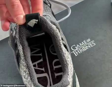 9059997_20190326181948_jpeg6d92a20278860741021d22890247db76 Lionel Messi Exhibits Off Custom-made Adidas Sport Of Thrones Trainers (Pictures)