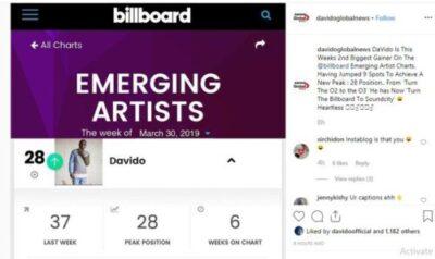 9065482 davidoclimbsfromno 37tono 28onamericanbillboardchartsunclesuru1 jpeg32b7f79b00be543590e759d342c318d1 - Davido Climbs From No. 37 To No. 28 On American Billboard Charts