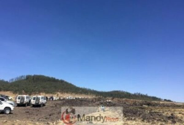 9ac324c0-b9de-4a42-b85c-5fe9ca95a009 Crash site Of Ethiopian Airlines That Killed 157 People (Photos)