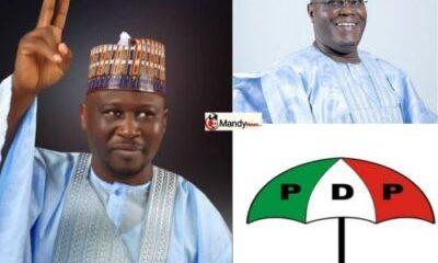 Atiku Governor-Elect Ahmadu Fintiri and PDP