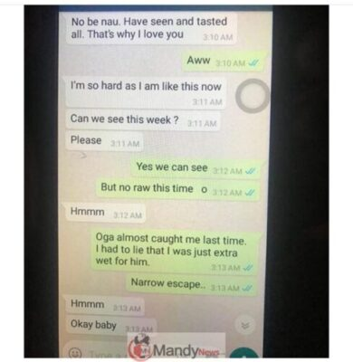 D00J7ujWwAcOuBo - Married Man Exposes Chats His Pregnant Wife Had With Another Man. (screenshot)