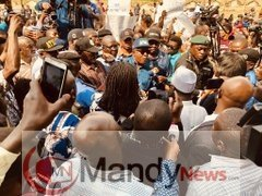 D06JdyRXcAA5LQ0 PDP Leaders Lead Protest March On The Outcome Of The Presidential Election