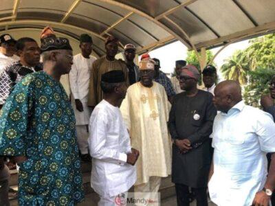 D0qseJ XQAQvX7p - Tinubu Meets All The Political Warriors In Lagos (Pics)