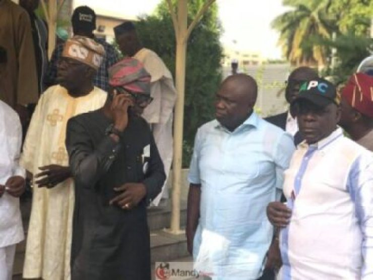 D0qseKBXcAE9l3R Tinubu Meets All The Political Warriors In Lagos (Pics)