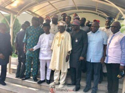 D0qseKCWkAApn73 - Tinubu Meets All The Political Warriors In Lagos (Pics)