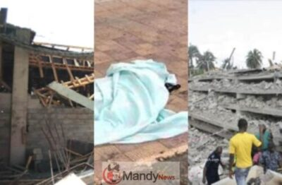 FotoJet 11 - Constructing Collapses In Ghana, Kills 2-year-old Boy (Picture)