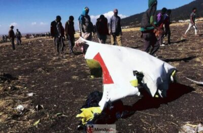 IMG 20190310 210704 857 - Crash site Of Ethiopian Airlines That Killed 157 People (Photos)