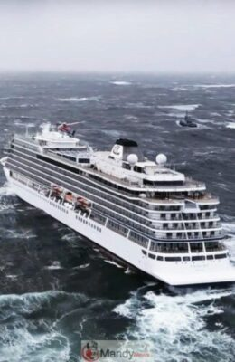 IMG 20190324 142147 246 - 1,300 Passenger Trapped In Norway Cruise Ship Rescued (Video, Pictures)