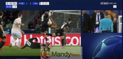 Man Utd penalty VAR PSG Champions League Rashford 1769760 - Man Utd Penalty: The Stunning Pictures That PROVE VAR Was Correct