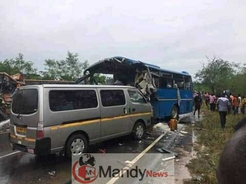 Metro Mass bus crashes Neoplan bus - One other Accident: eight Lifeless In Ghana Bus Accident (Images)