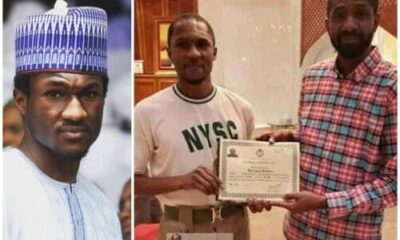 Nigerians-react-after-Yusuf-Buhari-received-NYSC-certificate-at-home