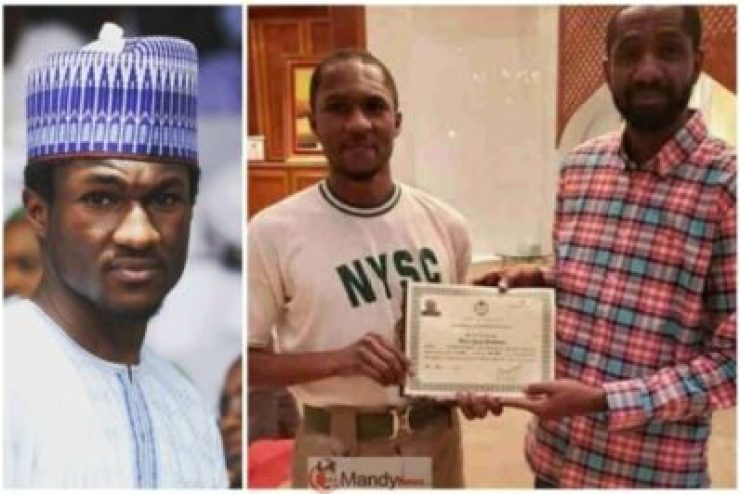 Nigerians-react-after-Yusuf-Buhari-received-NYSC-certificate-at-home-1024x683 Yusuf Buhari Beneath Assault Over NYSC