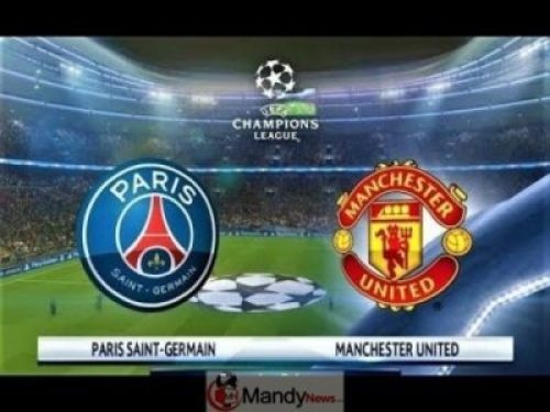 PSG-vs-Man-Utd Paris Saint Germain vs Manchester United - Champions League Match, Goal Scorers And Stats