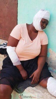 Safina Haroun 1 576x1024 - Popular Ghanaian Actress, Safina Haroun Involved In An Accident (Photos)