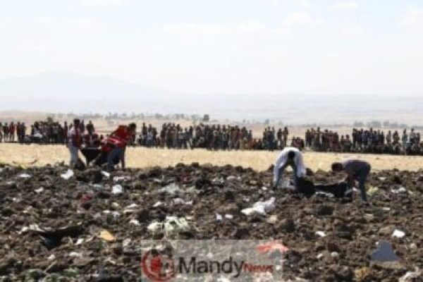 dd60ab91-20d2-425b-bfaf-29b4b23737b3 Crash site Of Ethiopian Airlines That Killed 157 People (Photos)