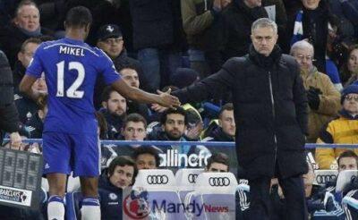 mikkel and mourihno - 'Jose Mourinho Killed Me' - Mikel Obi