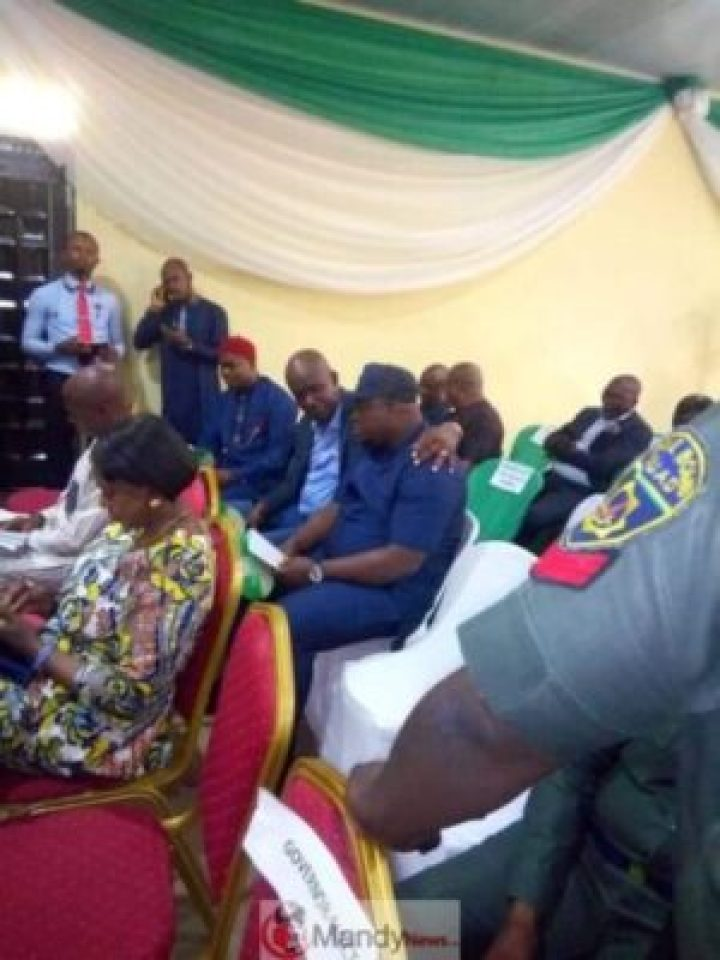 57023955_2557432541012030_2458484914257920000_n INEC Presents Certificates Of Return To Wike, Lawmakers In Rivers.