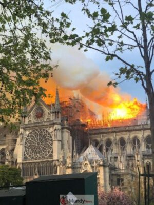 D4Nq51IWAAABz9s 768x1024 - Fire Breaks Out At Notre-Dame Cathedral In Paris (Photos)