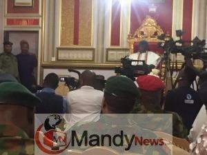 IMG 20190416 142234 - Chief of Army Staff, Lt Gen Tukur Buratai Pays Visit To Olu Of Warri Palace
