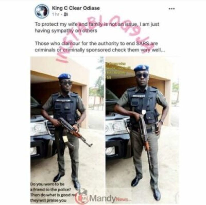 If-You-Want-SARS-To-End-You-Are-A-Criminal-Policeman 'If You Want SARS To End You Are A Criminal' - Policeman