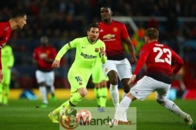 Messi vs Man United - Manchester United vs Barcelona 0-1 - All Goals and Highlights (Video)