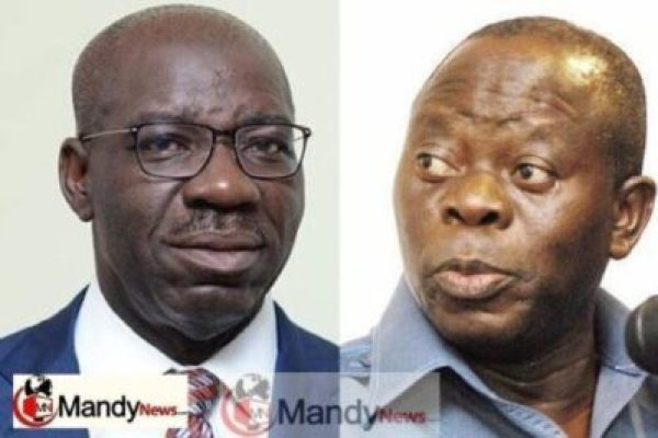 Obaseki-and-Oshiomhole-mandynews Edo 2020: New APC Political Group Emerges