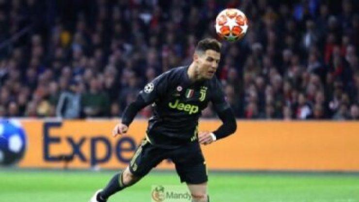 Ronaldo-heading-1024x576 Ajax vs Juventus 1-1 - All Goals and Highlights (Video)