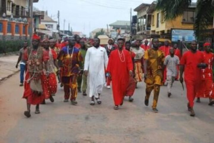 FB_IMG_1558138144058 Benin Traditional Worshippers Embark On Acts Of Purification And Sanctification