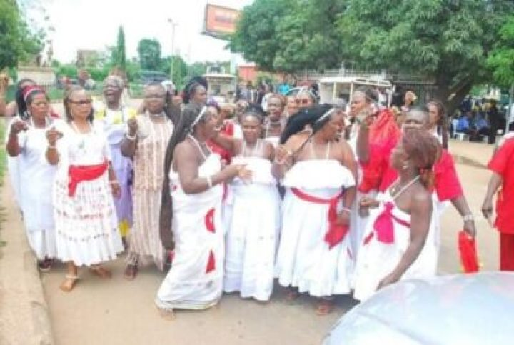 FB_IMG_1558138171708 Benin Traditional Worshippers Embark On Acts Of Purification And Sanctification