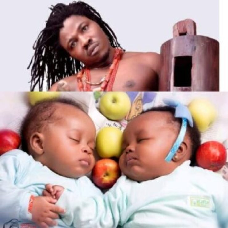 InShot_20190515_224229411 Stereoman Ekwe Shares Adorable Photos Of His Cute Twins
