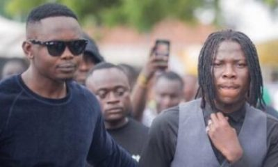 Stonebwoy and Manager x