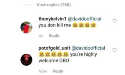 Tonto Dikeh Called Davido Small Boy, 2face Dad Of Many Kids Davido Reacts