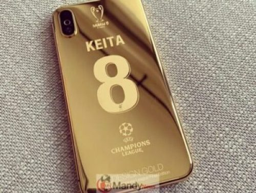 59885483_606132633198432_7778699226170249524_n Liverpool Squad Receive Insane Customised Champions League 24K Gold Plated iPhone X