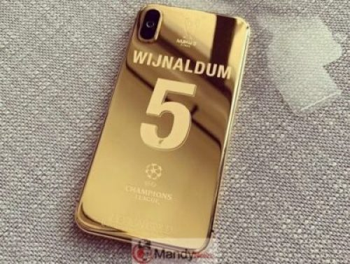 60049986_861485557557873_9052302144435061488_n Liverpool Squad Receive Insane Customised Champions League 24K Gold Plated iPhone X