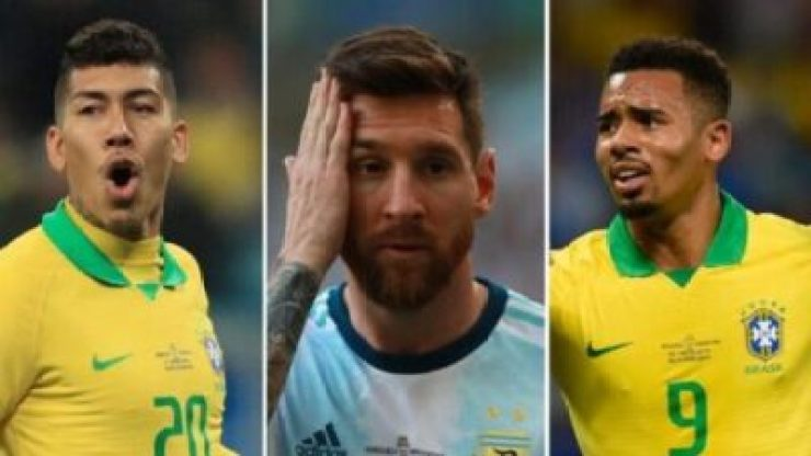 20ff635bc0a58f76a99177f024798b7a Brazil Defeat Messi, Argentina 2-0 To Reach Copa America Final (Video)