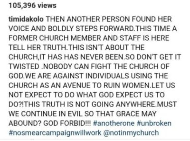 9762316_cymera20190704153115_jpeg92b36fa7d8d9a814d4f4d5ee4f5f063d Timi Dakolo Reacts As Former COZA Staff Accuses Pastor Fatoyinbo Of Raping Her