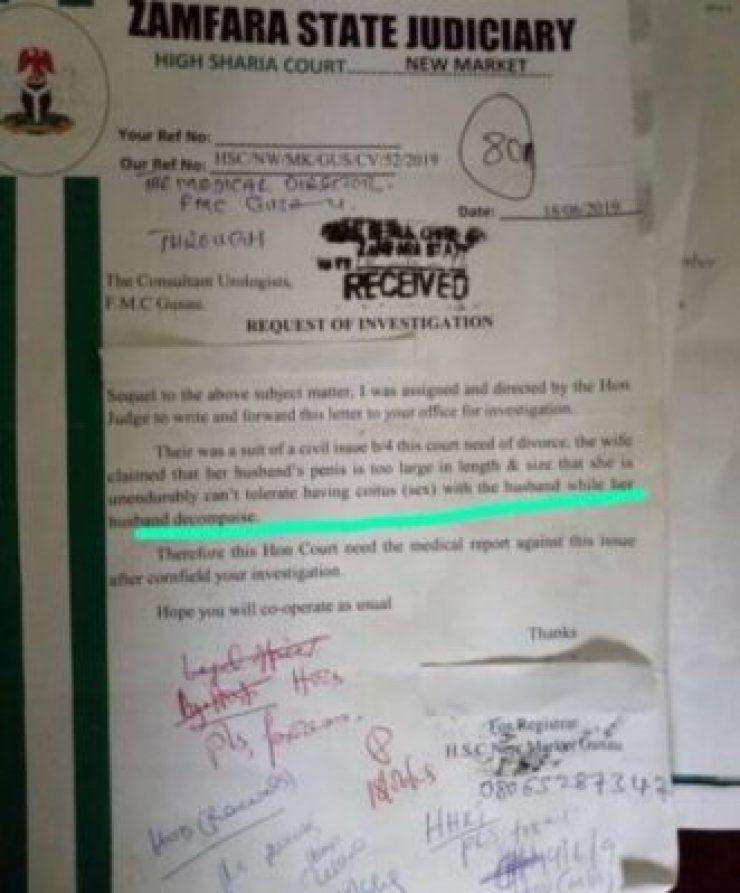 9866034_669885214224888950163291608347219118691819n_jpegac150cd6108daed6eaeef896d5fd62ae Nigerian Wife Files For Divorce Over Husband's Big Joystick (Photo)