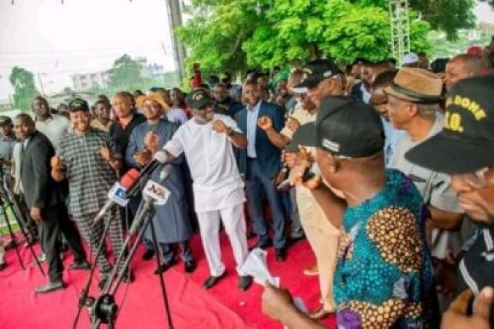 FB_IMG_15628606260460435 Market Women, Labour Groups, Youths, Others Pledge Support For Gov. Obaseki (Photos)