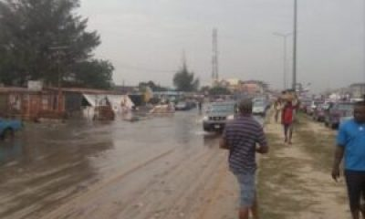 IMG 20190701 235612 - Floods Cause Chaos In Abraham Adesanya After Heavy Rain (Photos,Video)