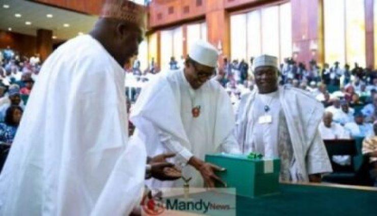 10358085_buharibudget_jpegd3fece904d048f8739b1e2b4b81121cc 2020 Budget: Buhari Presents Appropriation Bill To NASS