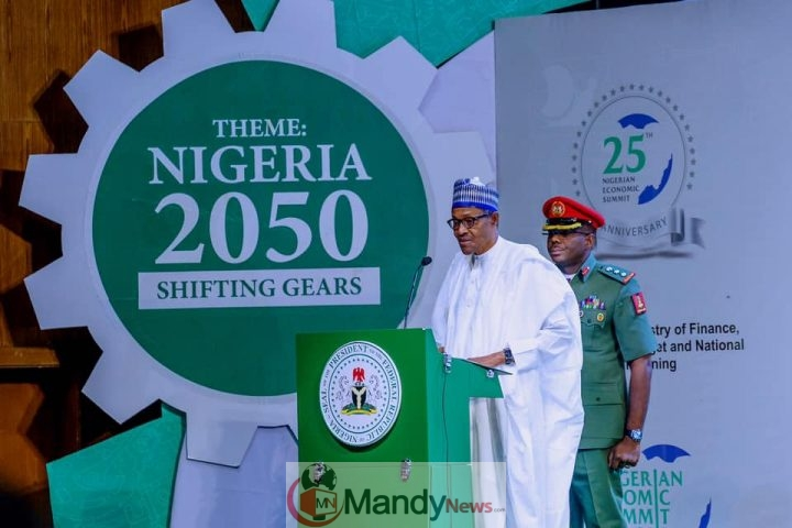 9a175b08c9f92c133865a73450f5179e President Buhari's Speech At Nigerian Economic Summit